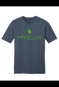 McKellar Heathered Blue T-Shirt