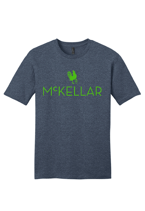 McKellar Heathered Blue T-Shirt