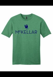 McKellar Heathered Green T-Shirt