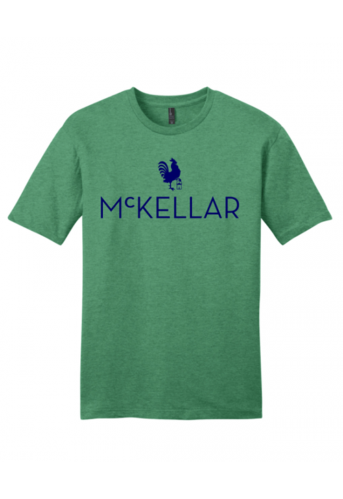 McKellar Heathered Green T-Shirt