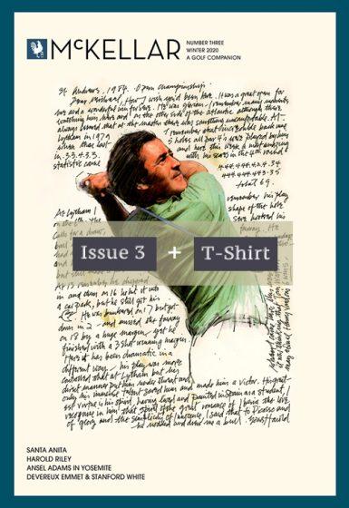 Issue 3 plus McKellar T-shirt