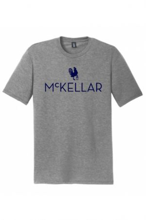 McKellar Golf TShirt in Heathered Grey