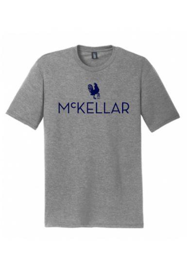 McKellar Golf TShirt in Heathered Grey