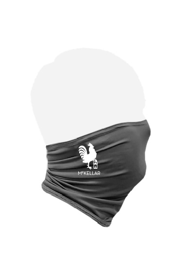 McKellar Golf Gaiter Mask Side View